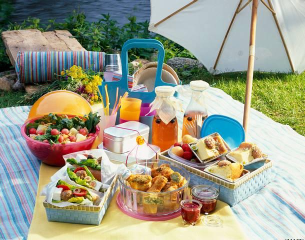 Gefüllte Baguette (Picknick) Rezept