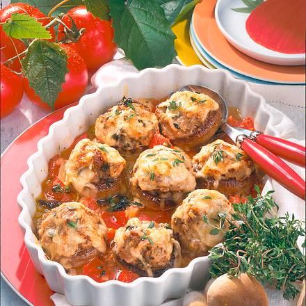 gef llte champignons rezept chefkoch rezepte auf kochen backen und schnelle gerichte. Black Bedroom Furniture Sets. Home Design Ideas