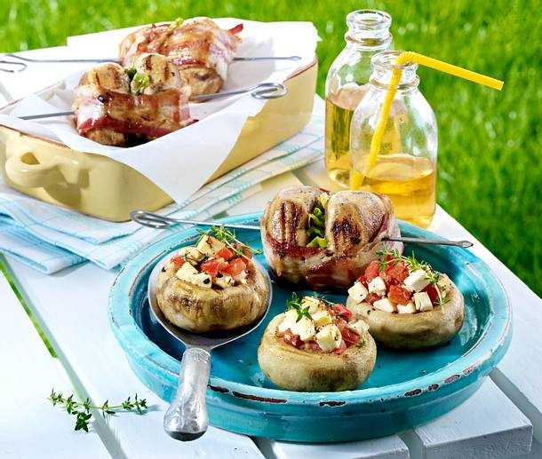 gef llte champignons und speck champignon spie e vom grill rezept chefkoch rezepte auf lecker. Black Bedroom Furniture Sets. Home Design Ideas