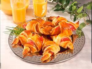 Gefüllte Croissants Rezept