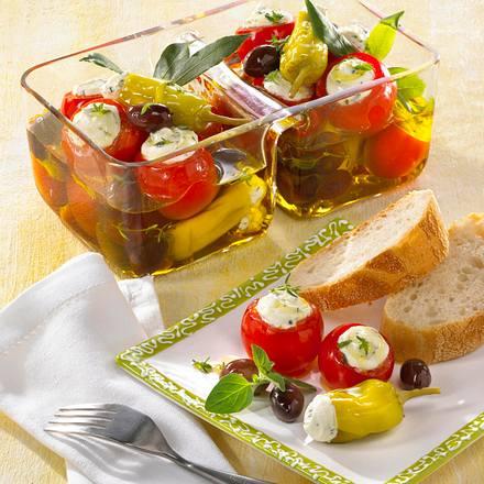 Gefüllte eingelegte Tomaten Rezept