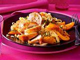 Gefüllte Hähnchenfilets mit Aprikosensoße Rezept