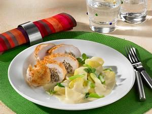 Gefüllte Hähnchenfilets mit Bechamel-Kartoffeln Rezept
