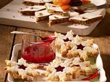 Gefüllte Himbeer-Chili-Sterne Rezept