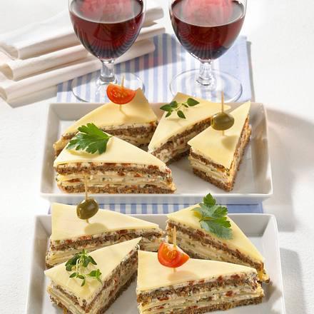 Gefüllte Käse-Ecken Rezept