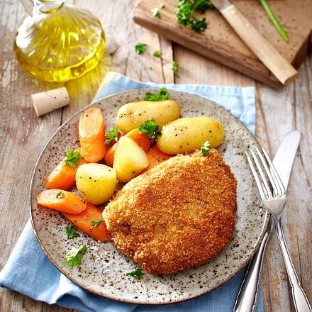 Gefüllte Kalbs-Schnitzel Rezept