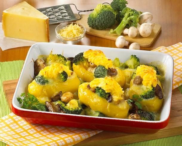 Gefüllte Kartoffeln mit Käsehaube Rezept