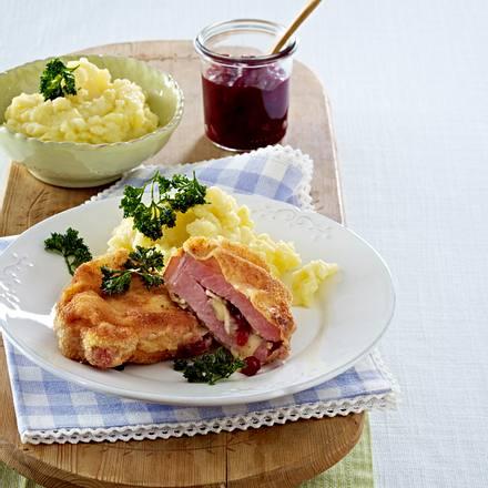 Gefüllte Kasseler-Schnitzel Rezept