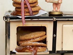 Gefüllte Kekse mit Karamell Rezept