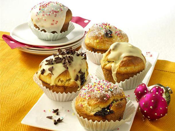 Gefüllte Muffin-Berliner Rezept