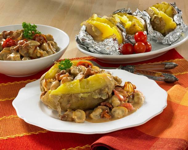 Gefüllte Ofenkartoffel Rezept
