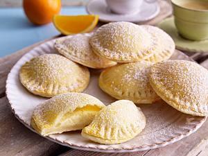 Gefüllte Taler mit Zitronen-Ricottacreme Rezept