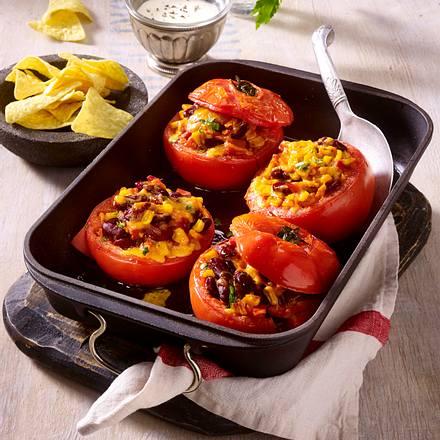 Gefüllte Tomate auf mexikanische Art Rezept