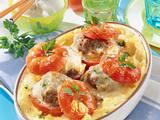 Gefüllte Tomaten mit Mett Rezept