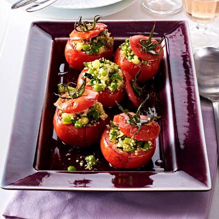 Gefüllte Tomaten mit Quinoa Rezept