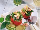 Gefüllte Tomaten mit Shrimps Rezept