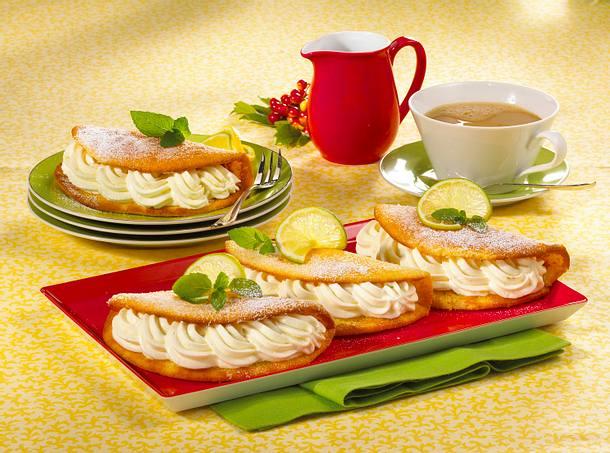 Gefüllte Zitronen-Limetten-Omeletts (Diabetiker) Rezept