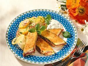 Gefüllte Zucchini mit Camembert Rezept