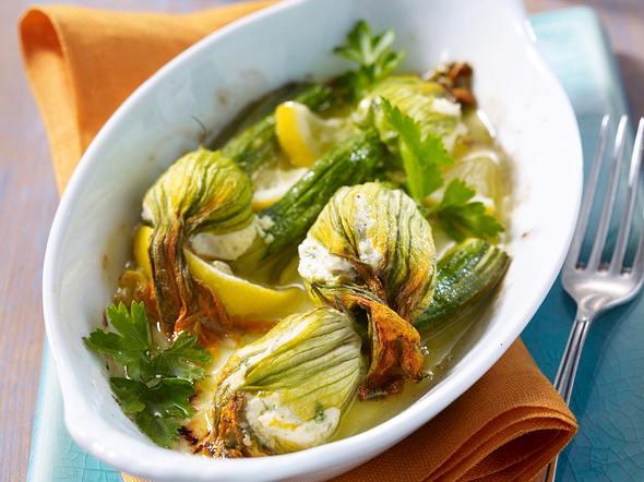 Gefüllte Zucchiniblüten mit Ricotta Rezept