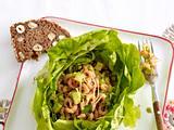 Gefüllter Kopfsalat mit Krabben und Avocado Rezept