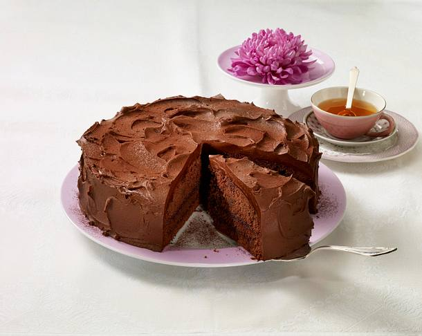 Gefüllter Schoko-Baileys-Kuchen Rezept