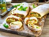 Gefülltes Brot zum Grillen Rezept