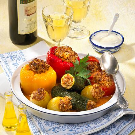 Gefülltes Gemüse (Dolma) Rezept