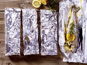 Gegrillte Kräuter-Zitronen-Forelle Rezept