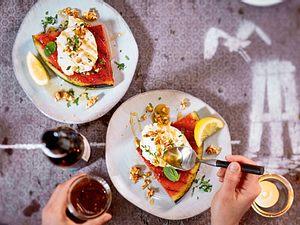 Gegrillte Wassermelone nach Geröllheimer-Art Rezept