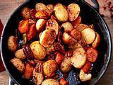 Gegrilltes Ofen-Gemüse rezept