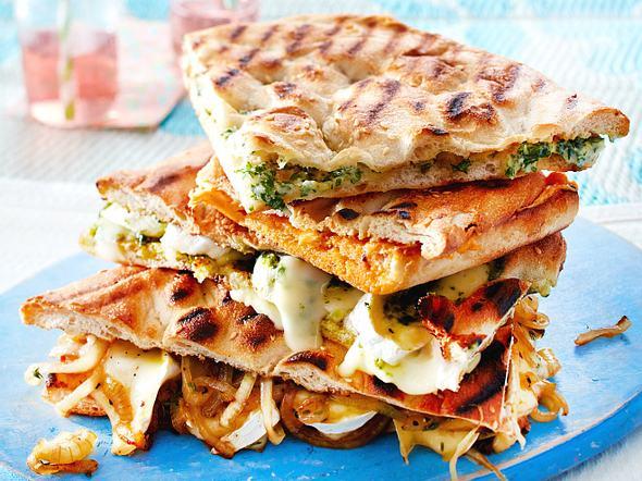 Gegrillte Pide-Sandwiches Rezept