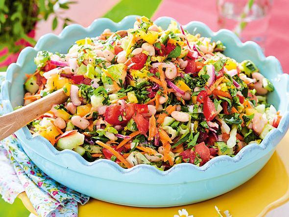 Salat ausgefallener Salate zum