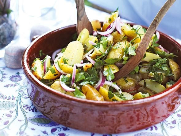Gekräuterter Früh-Kartoffel-Salat Rezept