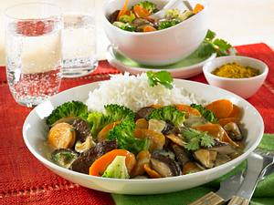 Gelbes Rinder-Curry Rezept