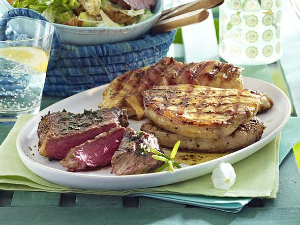 Gemischte Steakplatte Rezept