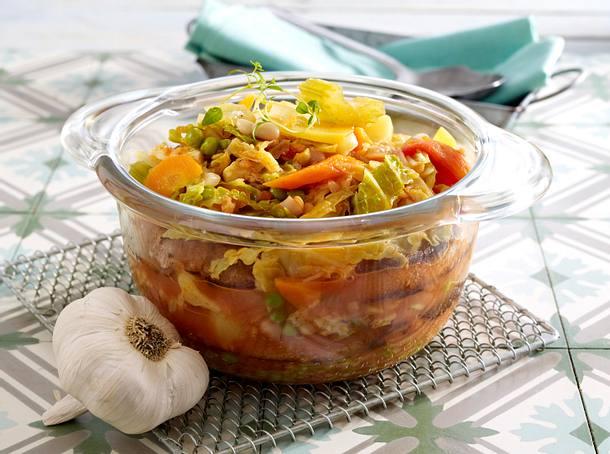 Gemüse-Brot-Eintopf (Ribollita) Rezept