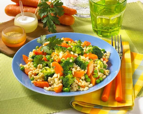 Gemüse-Ebly-Pfanne Rezept