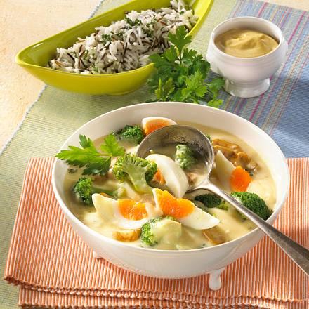Gemüse-Eier-Ragout Rezept