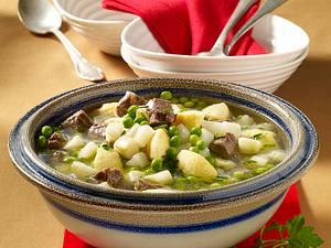 Gemüse-Eintopf mit Grießklößchen Rezept
