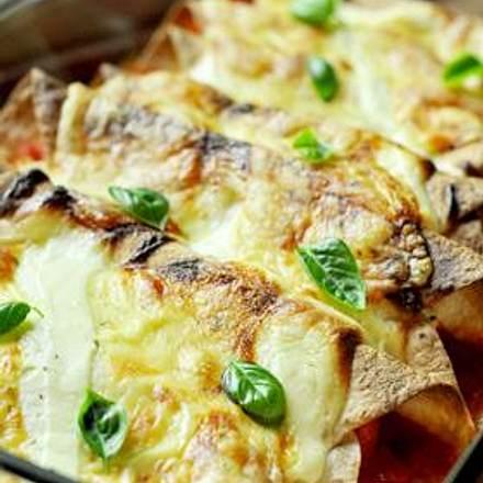 Gemüse Enchiladas Rezept