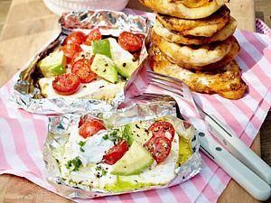 Gemüse-Feta-Päckchen Rezept