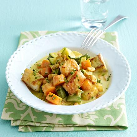 Gemüse-Fisch-Curry Rezept
