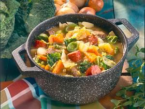 Gemüse-Fleisch-Eintopf Rezept