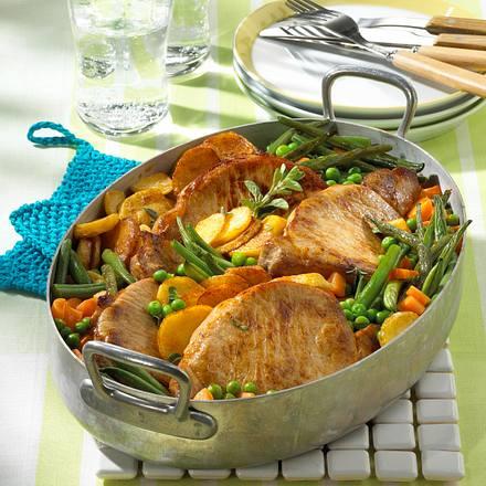 Gemüse-Fleisch-Topf Rezept
