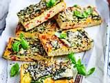 Gemüse-Frittata  mit Immun-Booster rezept