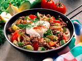 Gemüse-Hack-Pfanne Rezept