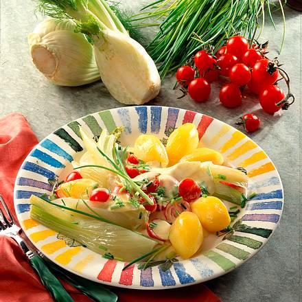 Gemüse in Käsesoße Rezept