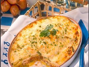 Gemüse-Lamm-Moussaka Rezept