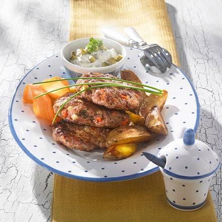 Gemüse-Mettbällchen Rezept