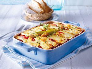 Gemüse-Moussaka mit Feta Rezept
